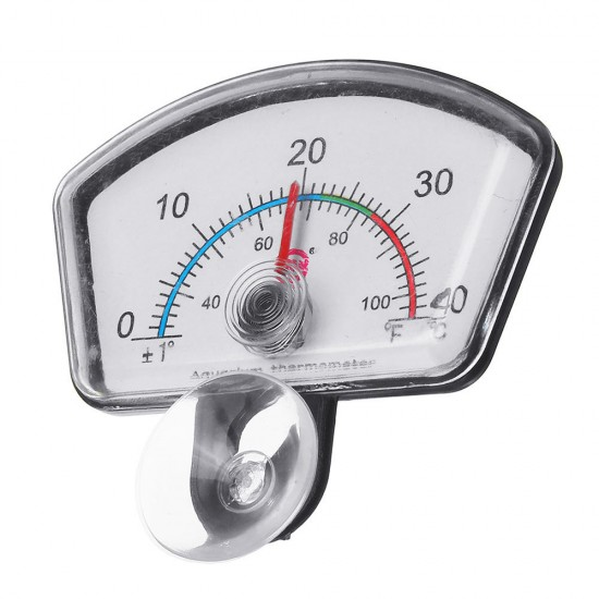 0-40 (°C)  Polygon Pointe'r Thermometer High-precision Aquarium Thermometer Real-time Display Easy-to-read Thermometer