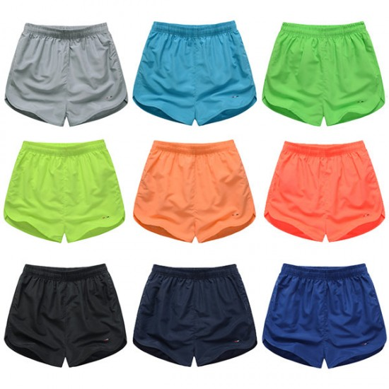 9 Colors Casual Beach Lovers Sports Shorts Fast Drying Loose Shorts