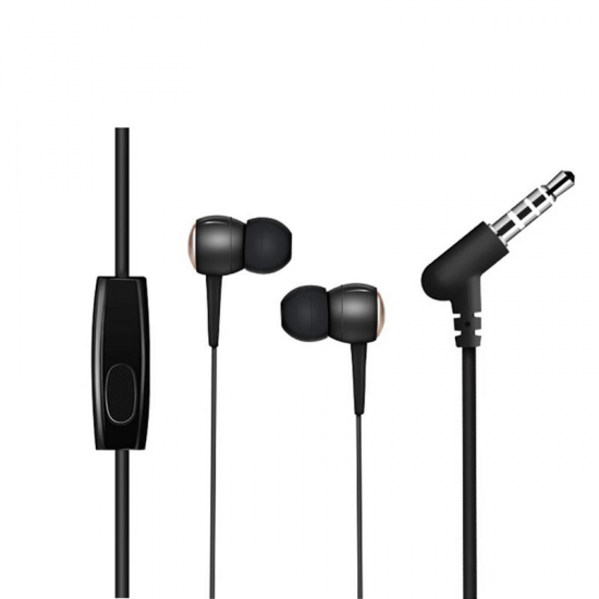 HOCO M19 Noise Cancelling Heavy Bass Wired 3.5mm In-ear Earphone Earbuds with Mic for Xiaomi iPhone