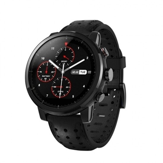 Original Xiaomi Amazfit Huami Stratos Sports Smart Watch 2S GPS 2.5D Artificial Sapphire Mirror Watch International Version