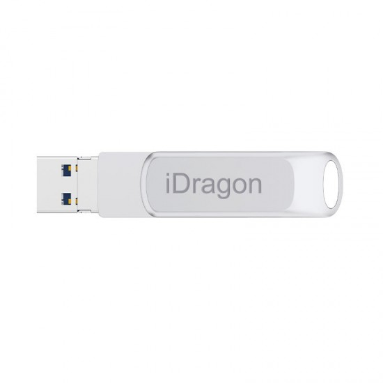 iDragon 32GB 64GB 128GB Type-c USB 3.0 OTG Micro USB U Disk Flash Drive for Xiaomi Smartphone PC