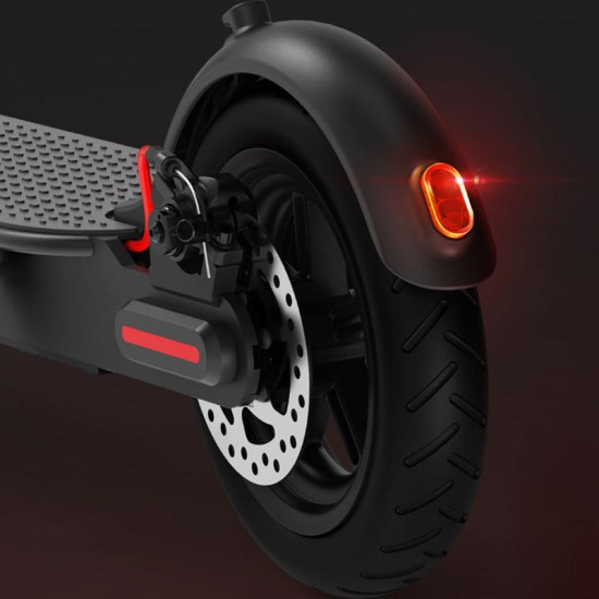 2019 Xiaomi Electric Scooter Pro 300W Motor 3 Speed Modes 25km/h Max. Speed 45km Mileage Range 12.8Ah Battery Double Brake System Multi-function Control Panel