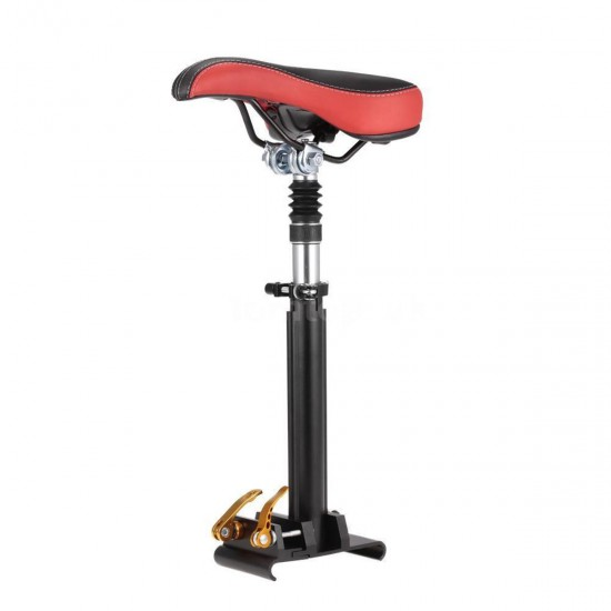 BIKIGHT Adjustable Foldable Saddle Seat  For Xiaomi M365 Electric Scooter Shock Absorbing Seat Folding Chair