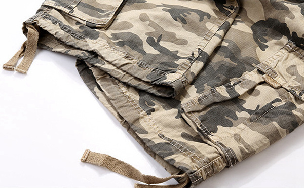 Camouflage-Big-Multi-Pocket-Summer-Loose-Cotton-Cargo-Shorts-Size-30-40-1079047