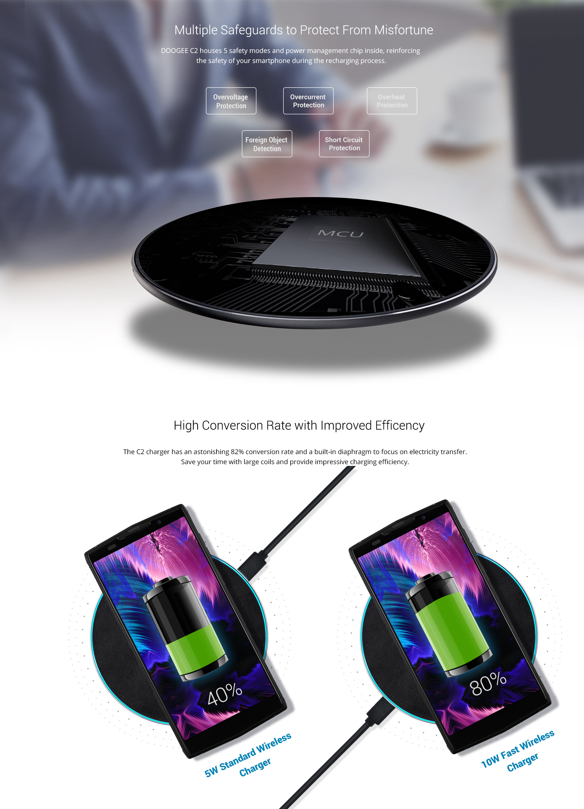 Doogee-10W-Qi-Fast-Wireless-Charger-Charging-Pad-For-DOOGEE-S60-S9-Note-9-XS-Max-XR-Xiaomi-Mix-3-1391436
